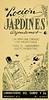 JARDINES ARGENTINOS 1947 Argentina small format 'Un perfume creado por argentinos para el verdadero gusto argentino'
