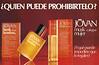 JOVAN Musk  for Women (+ for Men) 1983 Spain half page '¿Quién puede prohibirtelo? - Jovan Musk Cologne Mujer - ¿Y qué puede impedirte que lo regales?'