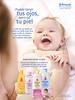JOHNSON'S Baby (Baño Hidratante - Shampoo - Aceite - Loción Extracare - Gentle All Over toallitas) 2018 Spain 'Puede tener tus ojos, pero no tu piel'