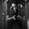 A self-portrait snapped in the Buckhorn Saloon and Museum.