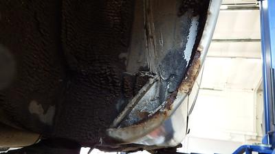RH Rear Sill corrosion