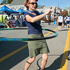 The 26th Johnny Appleseed Festival was held on Saturday, September 21, 2019 in Leominster. Showing off her skills with the Hoola Hoop a she help man the WLPZ 95.1 booth at the festival is Marie Letaste. SENTINEL & ENTERPRISE/JOHN LOVE