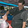 The 26th Johnny Appleseed Festival was held on Saturday, September 21, 2019 in Leominster. Making some cotten candy at the festival at the Double D's Concessions booth is David Demar. SENTINEL & ENTERPRISE/JOHN LOVE