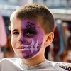Brayden Dupuis, 8, gets his face painted during the Johnny Appleseed Festival on Saturday afternoon in Leominster. SENTINEL & ENTERPRISE / Ashley Green