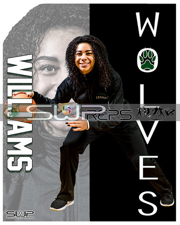 JAELEN WILLIAMS POSTER 8X10
