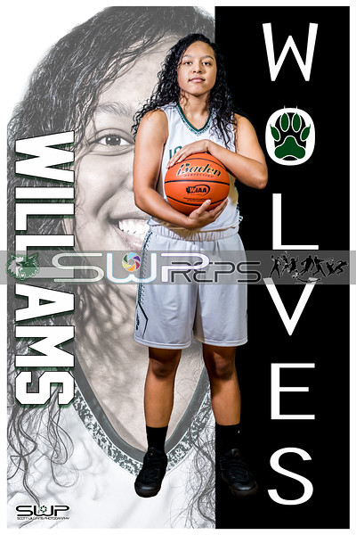 BREONNA WILLIAMS POSTER 8X12