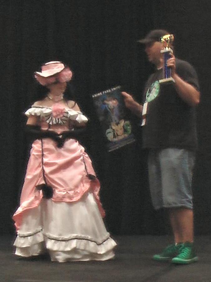 Judges Award to Jessica as Ciel from Kuroshitsuji