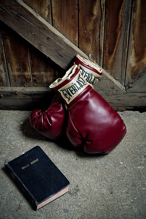 Gloves and Bible
