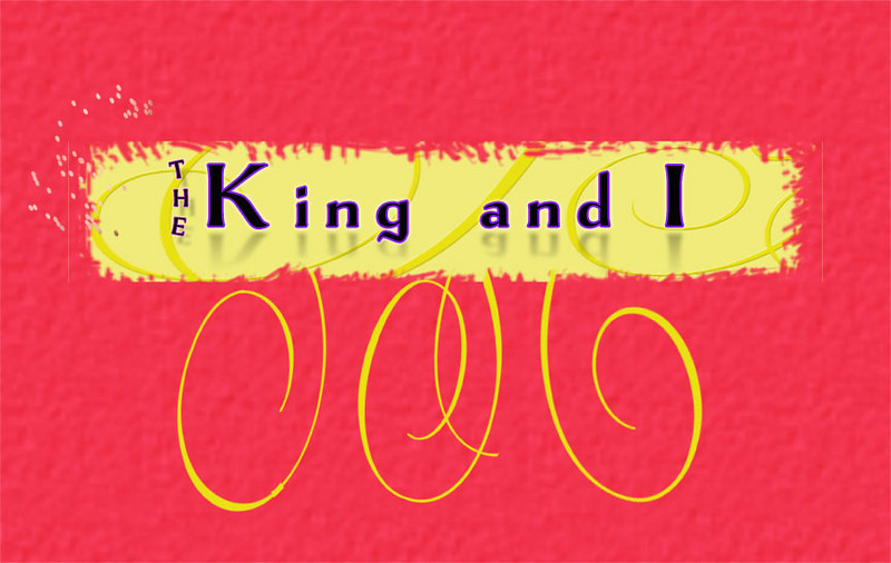 web King and I Banner