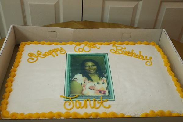 JANET'S 60TH BIRTHDAY PARTY