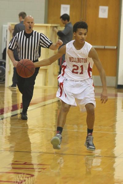 Freshman Basketball vs Collegiate 010516