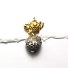 8474V-RS CO46  VERMEIL CROWN WITH RHINESTONE