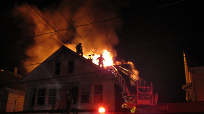 SHENANDOAH HEIGHTS - WEST MAHANOY TOWNSHIP HOUSE FIRE 1-19-2010 PICTURES BY J C KRIESHER