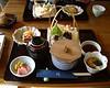 Kinkakuji - Lunch around in atemple<br /> Kyoto 2004