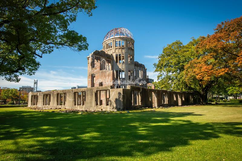 Atomic Bomb Dome, Hiroshima Peace Memorial Park, Hiroshima, Japan