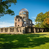 Atomic Bomb Dome, Hiroshima Peace Memorial Park, Hiroshima, Japan