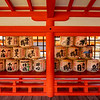 Sake Barrels, Itsukushima Shrine, Miyagima Island, Hiroshima, Japan