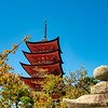 Five tiered pagoda, Itsukushima Shrine, Hiroshima