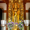 Golden Statue, Hasedera Temple, Kamakura, Japan