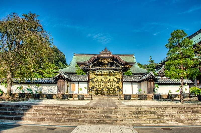 Karamon Gate, Kenchogi Temple, Kamakura