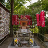 Kagigari Shrine, Hasedera Temple, Kamakura, Japan