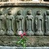 Jizo Statues, Hasedera Temple, Kamakura, Japan