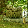Trio, Hasedera Temple, Kamakura, Japan