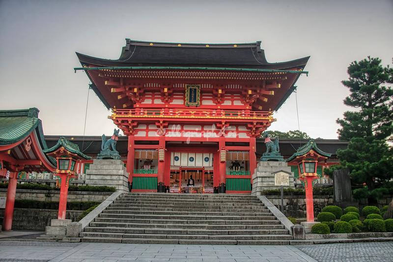 Fushimi Inari Shrine, Kyoto,