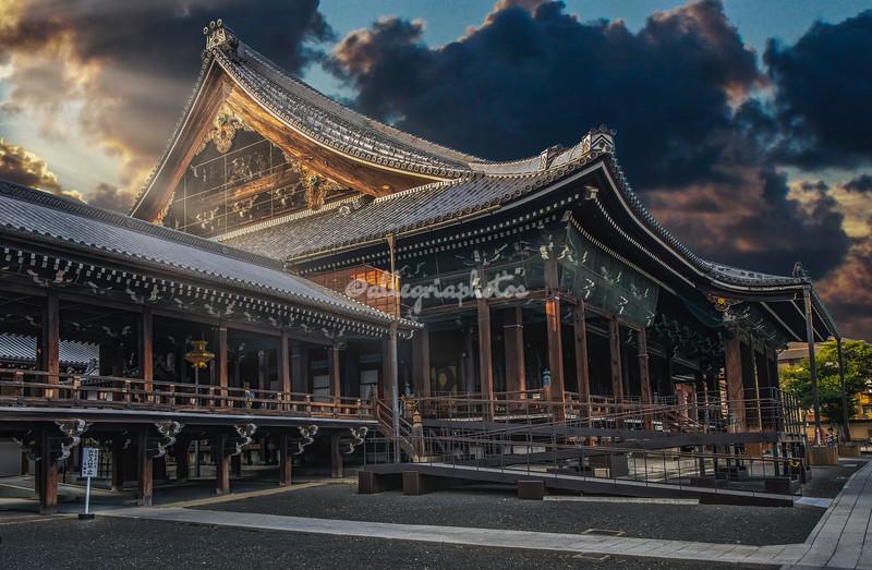 Nishi Hongwanji Temple, Kyoto, Japan
