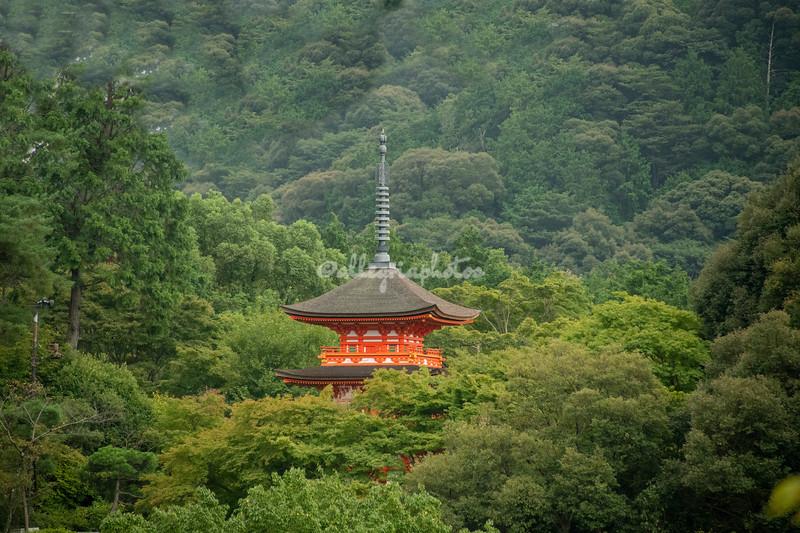 Kiyomizudera Temple shrine