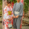 In the Kimono Forest, Arashiyama, Kyoto, Japan
