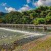 Togetsukyo Bridge, Katsura River, Arashiyama, Kyoto, Japan