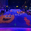 Trick or Treat, Halloween Light Display, Great Staircase, Kyoto Railway Building, Kyoto, Japan