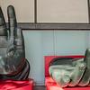 The hands of Buddah, Todaiji Temple, Nara, Japan