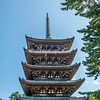 Five-tiered Pagoda, Kofukuji Temple, Nara, Japan