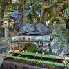 Fountain at the entrance to Kasuga-taisha Shrine, Nara, Japan