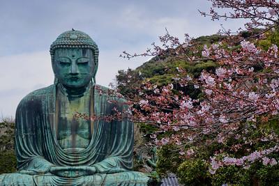 THE GREAT BUDDHA - KAMAKURA