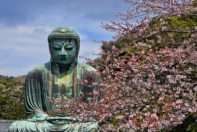 THE GREAT BUDDHA - KAMAKURA