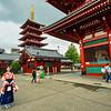 Sensoji Temple and Five-storied Pagoda, Asakusa, Tokyo, Japan