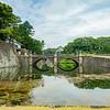 Nijubashi Bridge or Double Bridge, Imperial Palace, Tokyo, Japan