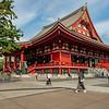 Main Hall (Hondo), Sensoji Temple, Asakusa, Tokyo, Japan