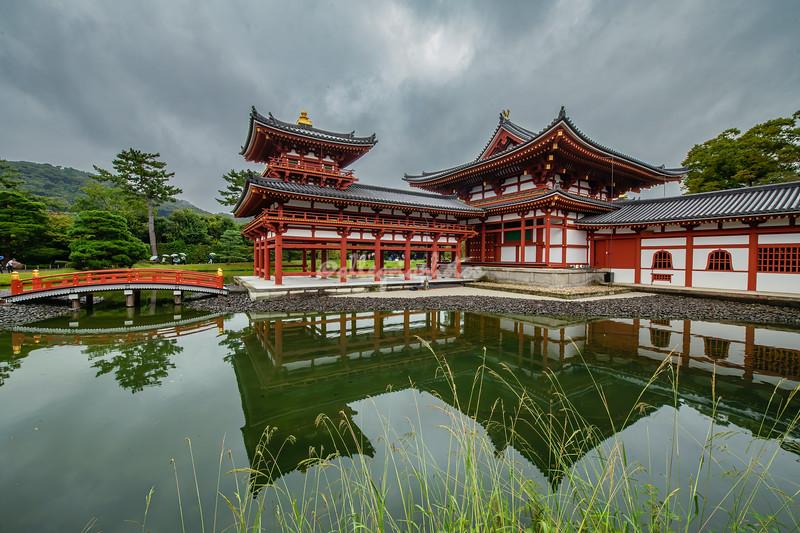 Phoenix Hall, Byodoin Temple, Uji, Japa