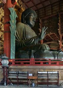 TODAI-JI TEMPLE DAIBATSU - NARA