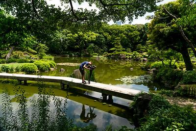 04 Filming Keitakuen Gardens Osaka © David Bickerstaff