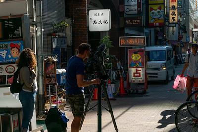 15 Filming Osaka streets © David Bickerstaff