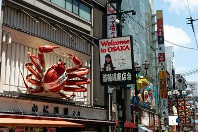 12 Osaka streets © David Bickerstaff