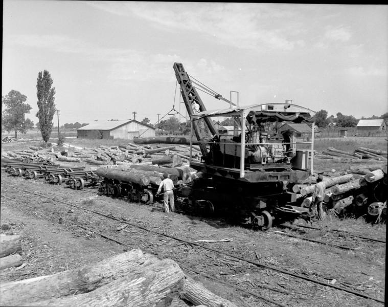 Georgia Pacific Lumber Co. D-315 Loader