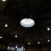 Oculus in rotunda.  Seems insufficient for bringing light into this space.
