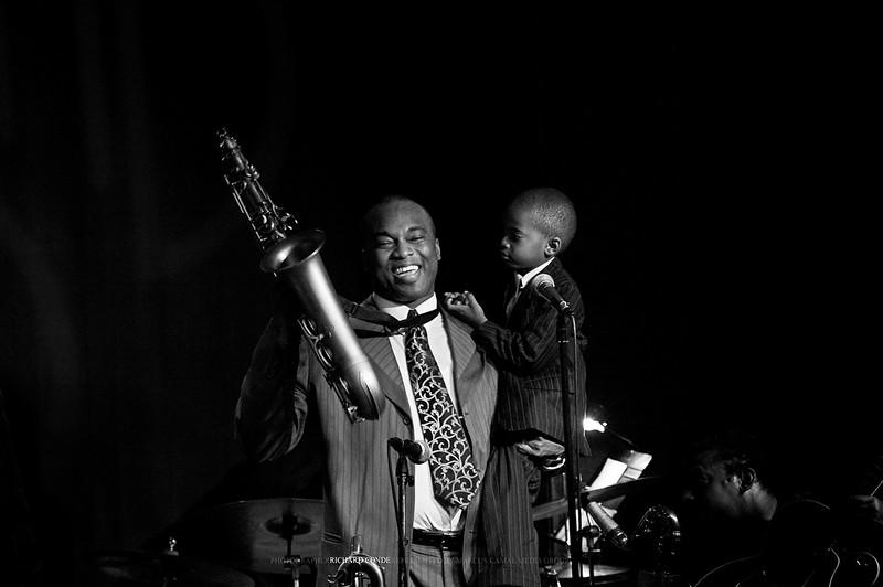 James Carter and Son  / Birdland Jazz Club NYC / dsc_50801