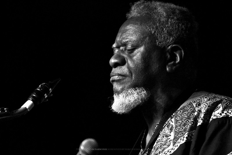 "PHAROAH SANDERS  <a href=""http://www.facebook.com/richardcondemedia"">http://www.facebook.com/richardcondemedia</a>   <a href=""http://www.instagram.com/richard_conde_photography/"">http://www.instagram.com/richard_conde_photography/</a>"